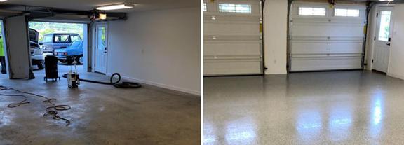Garage floor epoxy Austin